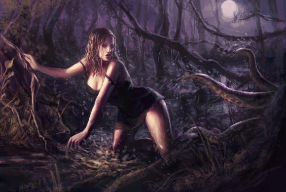 Laura Sava anotherwanderer deviantart ilustrações fantasia belas mulheres Filme B