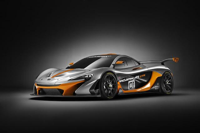 McLaren P1 GTR 2016