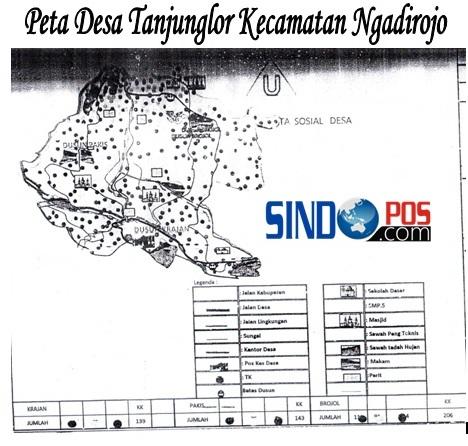 Profil Desa & Kelurahan, Desa Tanjunglor Kecamatan Ngadirojo Kabupaten Pacitan