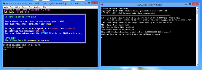 ykhwong's DOSBox SVN Daum Build (2013/01/07) - EmuCR