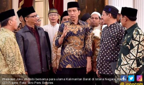 SBY – Prabowo Bertemu, Jokowi Bersama 22 Ulama di Istana