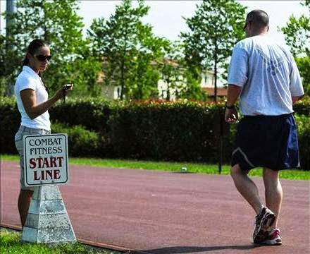 For those who have medical issues the Air Force uses a walk test.  Initially, this walk test was a timed, 1-mile walk that also measured heart  rate as you ...