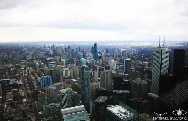 My Travel Background : 4 jours au Canada, en haut de la Tour CN de Toronto