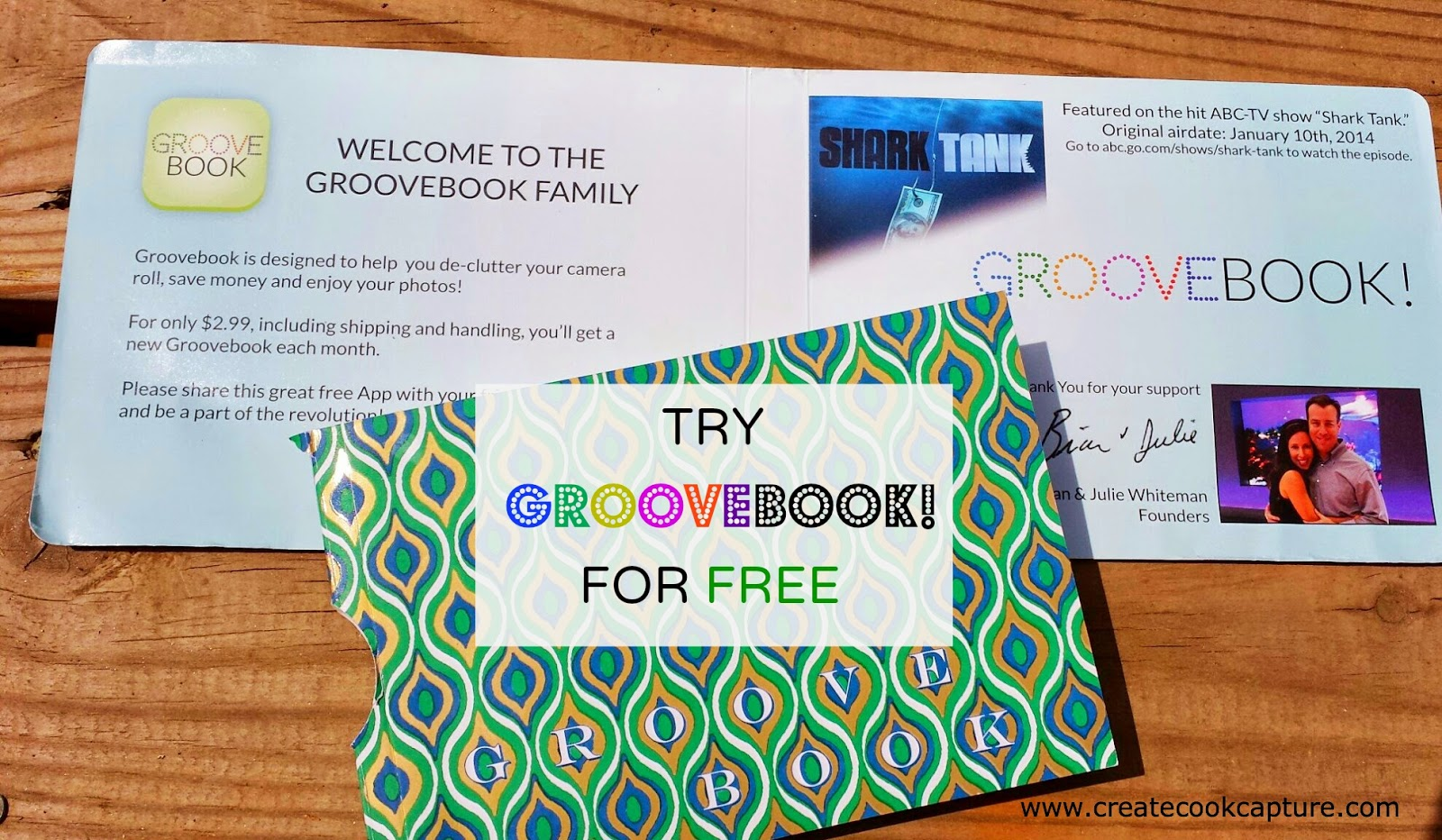 Create ~ Cook ~ Capture: Groove Book Review (Get Your Free Book)