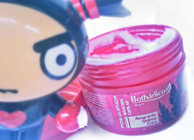 resenha da mascara bothanico hair pos quimica