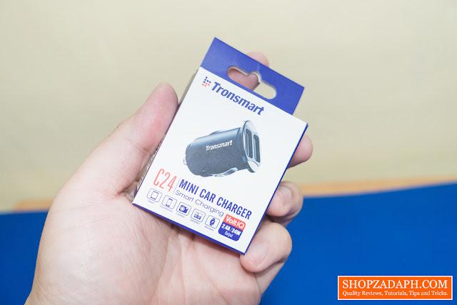 tronsmart c24 car charger review