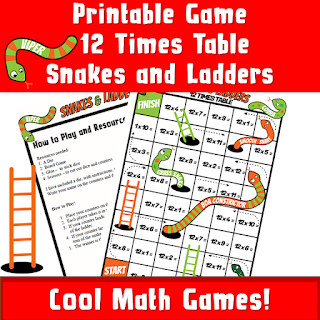 Multiplication Dice Games Printable