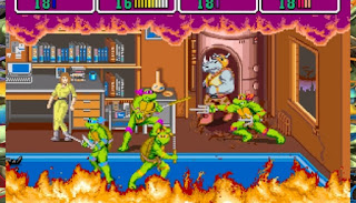 SNES Teenage Mutant Ninja Turtles