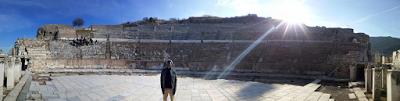 Reno Omokri in the Ancient Biblical City of Ephesus 2