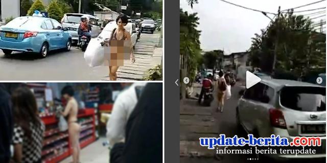 JANGAN HAKIMI! Wanita di Jakarta yang Belanja Sambil Telanjang, Sebelum Tahu Faktanya!