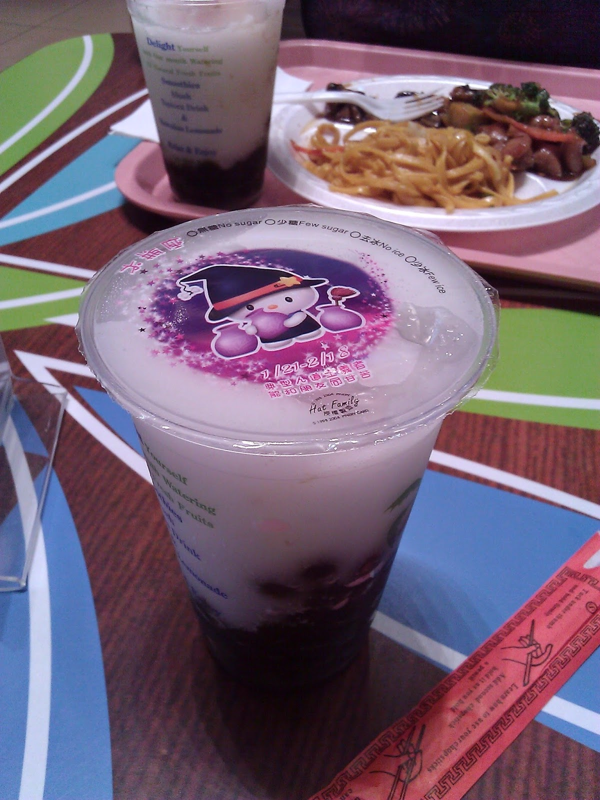 Bubble Tea with Hello Kitty Witch