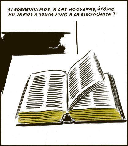 Meme de humor sobre los libros