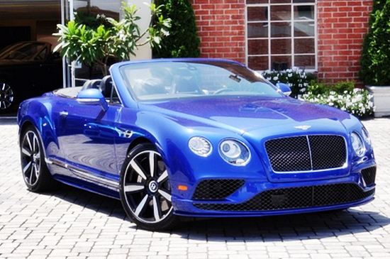 2016 Bentley Continental Gt Convertible Price Performance