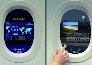 Как технология Acti-Vision Window изменит  привычные иллюминаторы в самолетах?