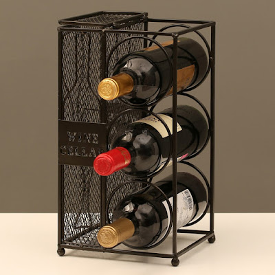 Shop Nile Corp Wine Bottle Wine Rack and Cork Collector Holder