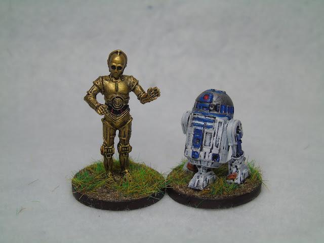 imperial assault r2-d2 c3po droids