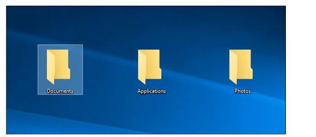cara mengatur windows destop berantakan dalam folder