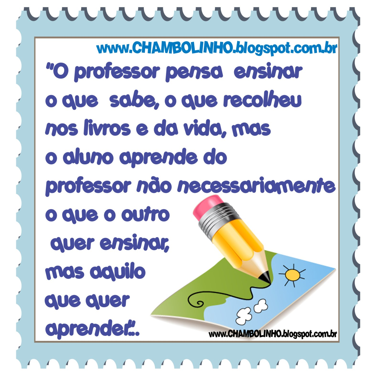 Frases Para Professores De Educação Infantil