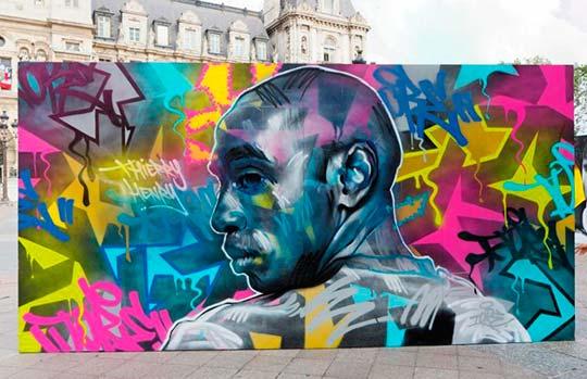 Thierry Henry por Tore (Fotografía de Henri Garat)