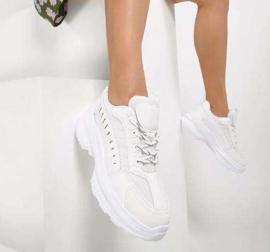 Sneakers dama Albi moderni model 2020 la pret mic cu talpa groasa