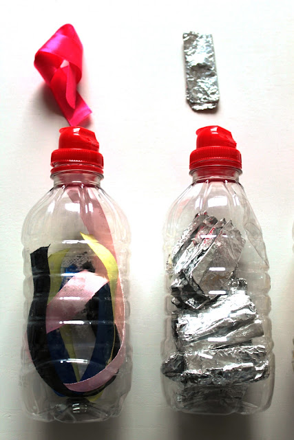 Montessori - bouteilles sensorielles