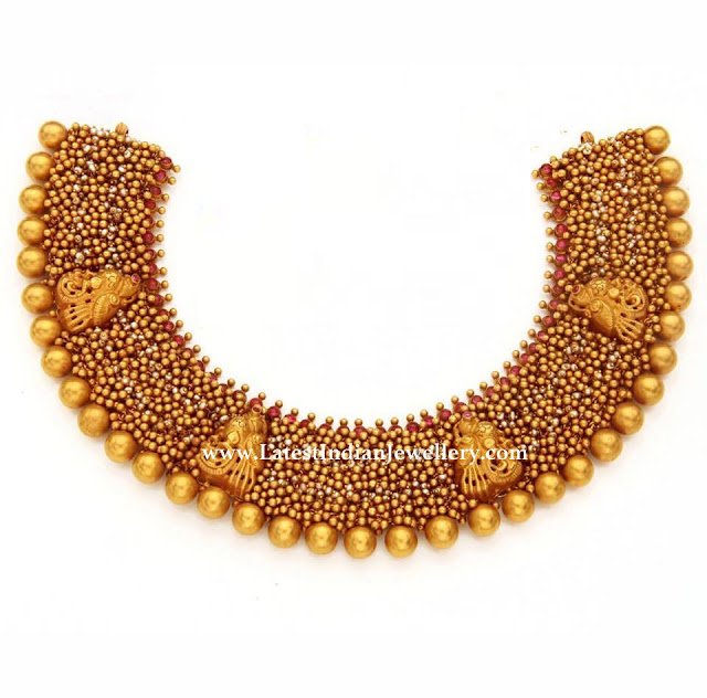 Aabharanam Gold Balls Necklace