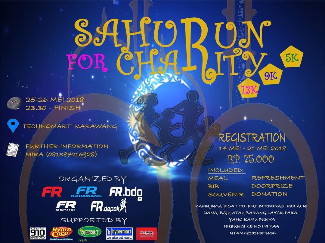SahuRun for Charity • 2018