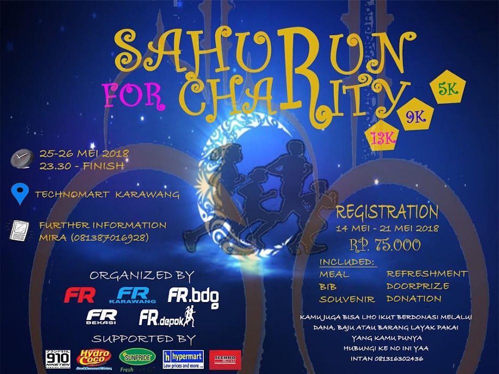 SahuRun for Charity • 2018