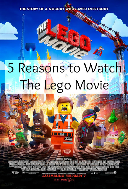 5 Reasons to Watch The Lego Movie