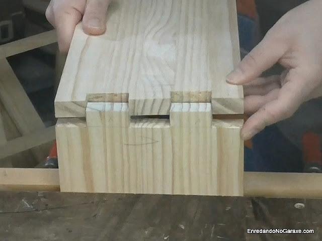 Cómo cortar uniones de lazos rectos. http://www.enredandonogaraxe.com