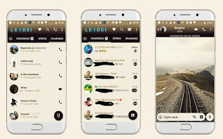 Landscape Theme For GBWhatsApp By Leideh