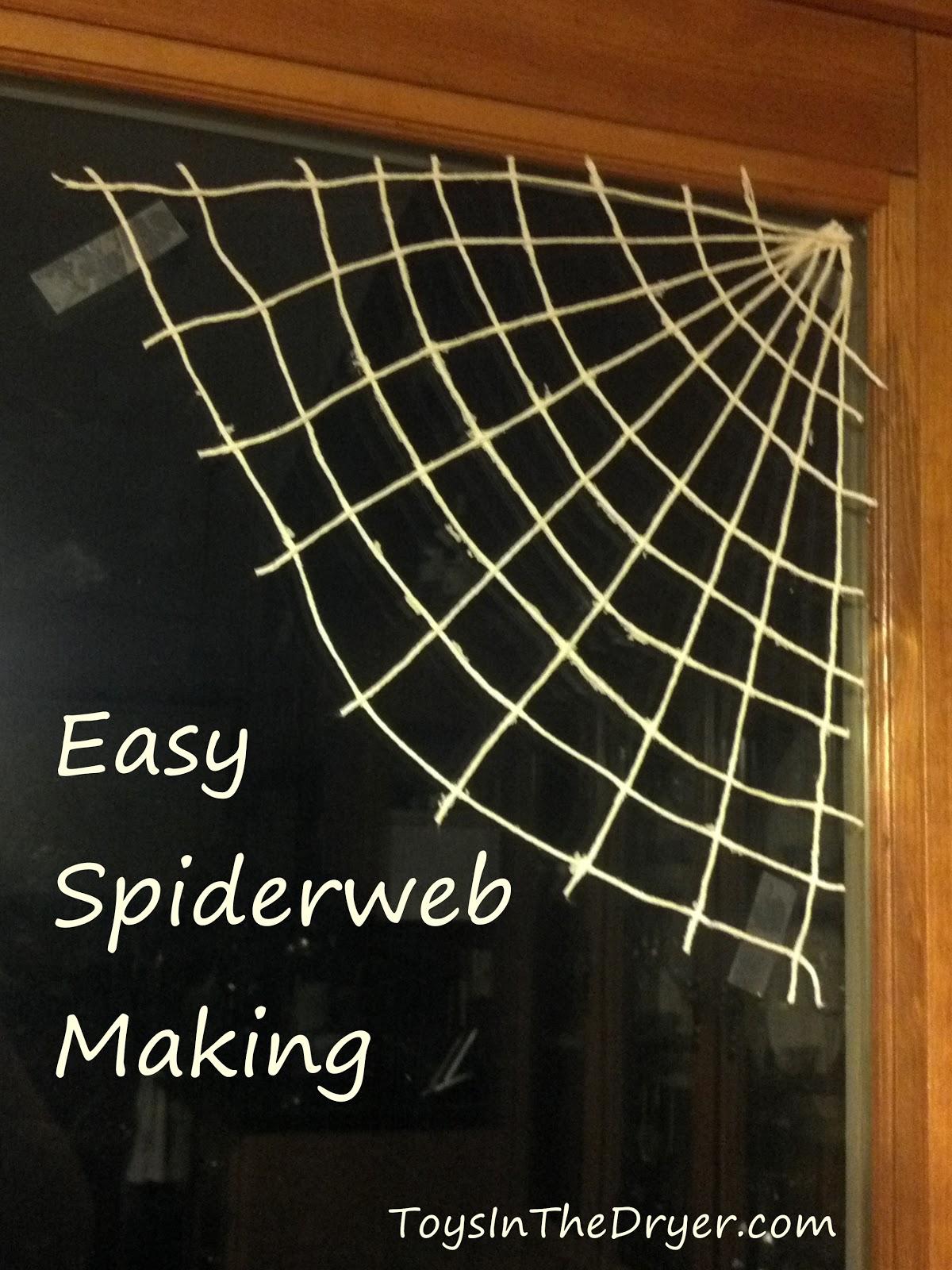 Easy Spider Webs