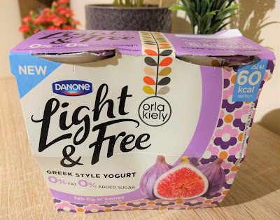Danone Light & Free Fig Yogurt Orla Kiely