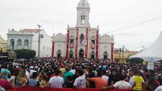 Procissão encerra festividades religiosas do padroeiro de Picuí
