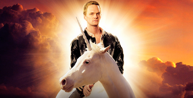 Max The Unicorn: Neil Patrick Harris On A Unicorn!