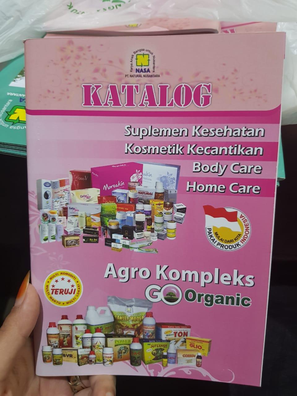 Profile Perusahaan Natural Nusanatara Jogjakarta Penan Distributor Nasa Melayani Pendaftaran Dan Pemesanan Produk Via Online Pengiriman Ke Seluruh Nusantara