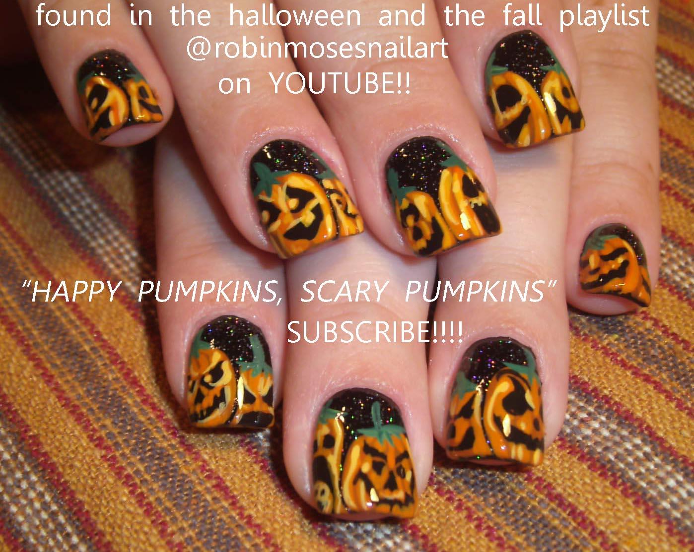 """Robin Moses Nail Art: """"cute halloween nails"""" """"nails for ..."""