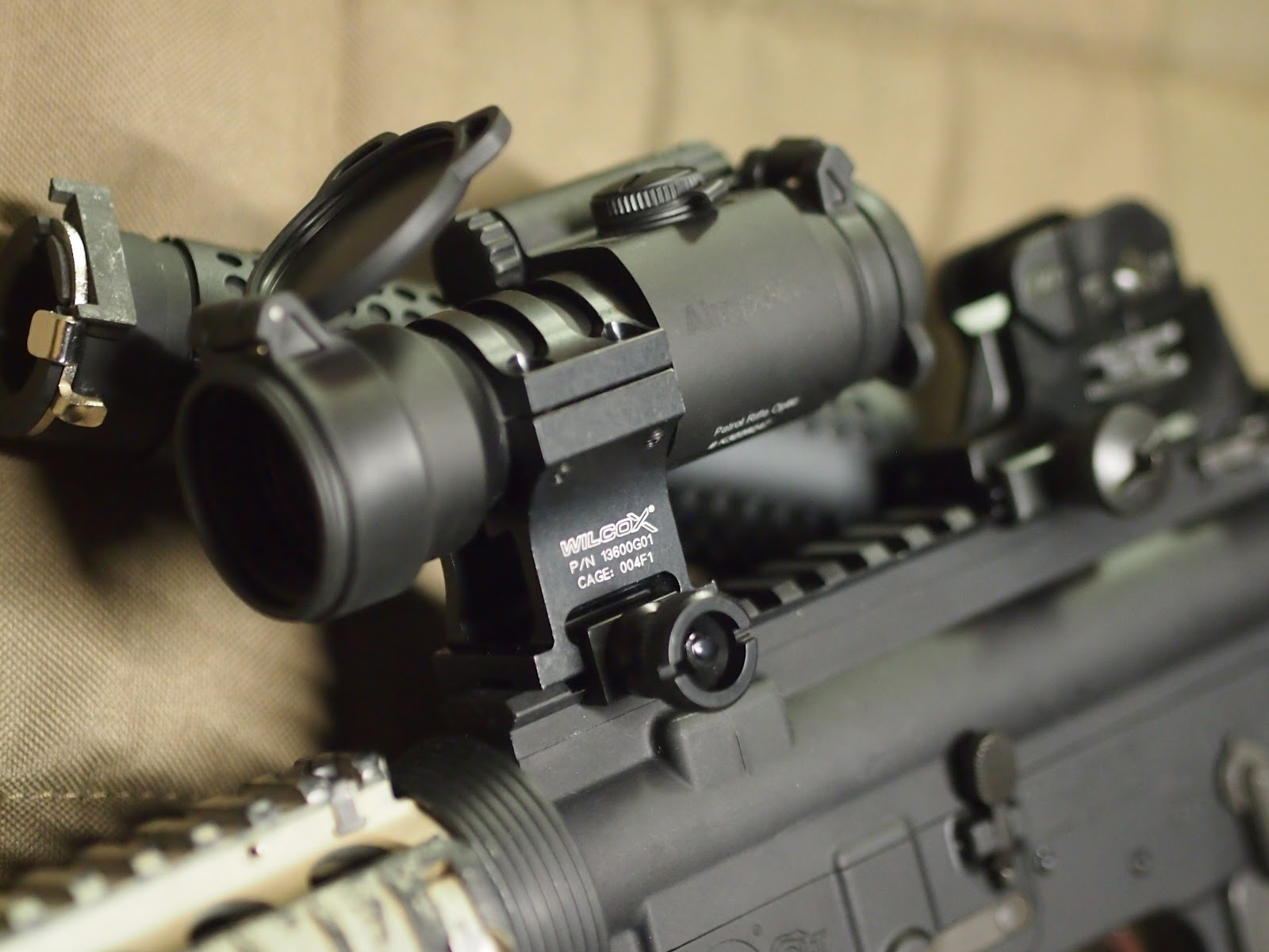 Mister Donut's Firearms Blog: Wilcox Aimpoint mount