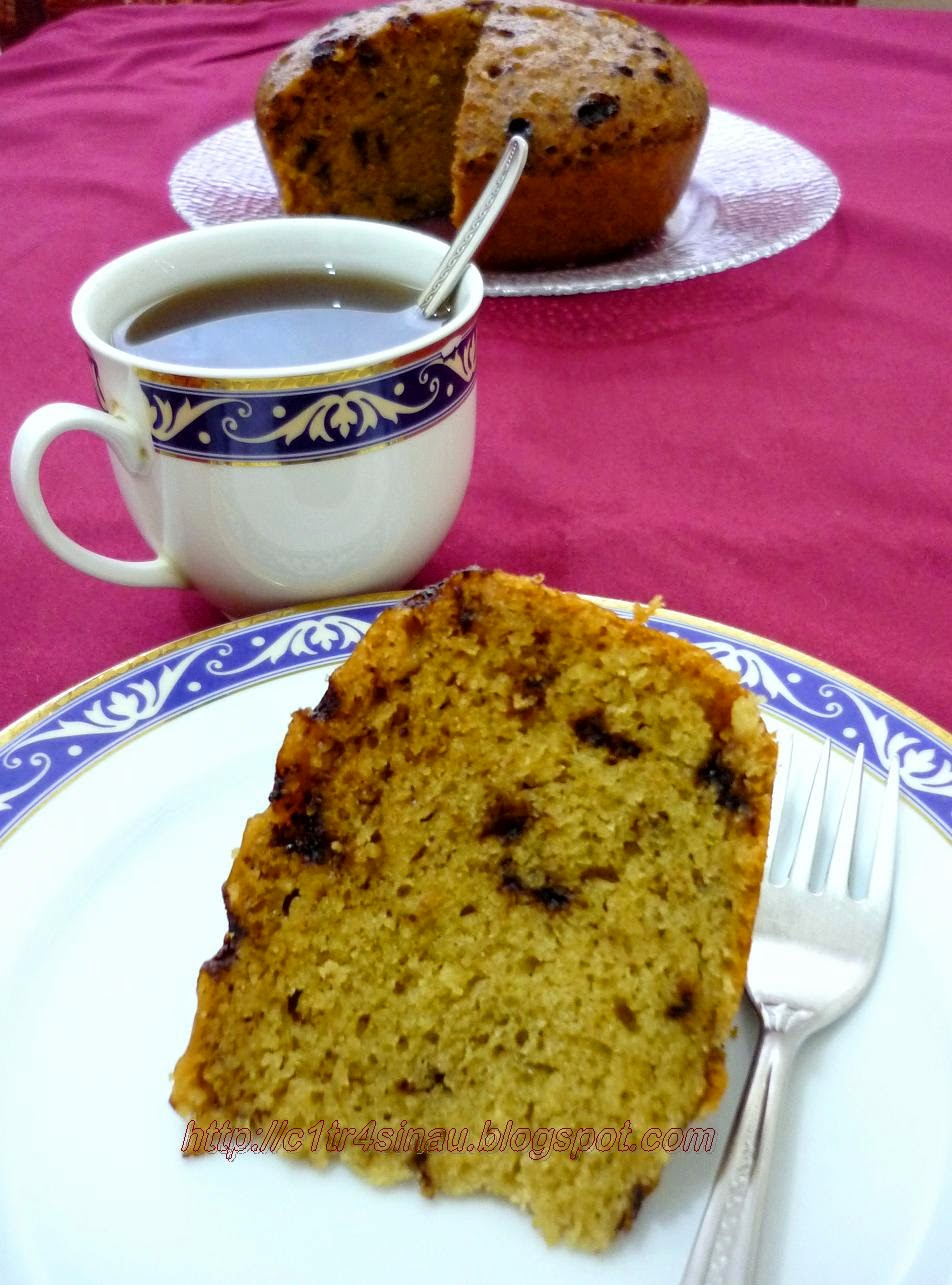 Steamed Banana Cake With Coconut Milk