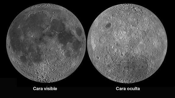 Desde el tercer planeta la otra cara de la luna for En que fase de luna estamos hoy