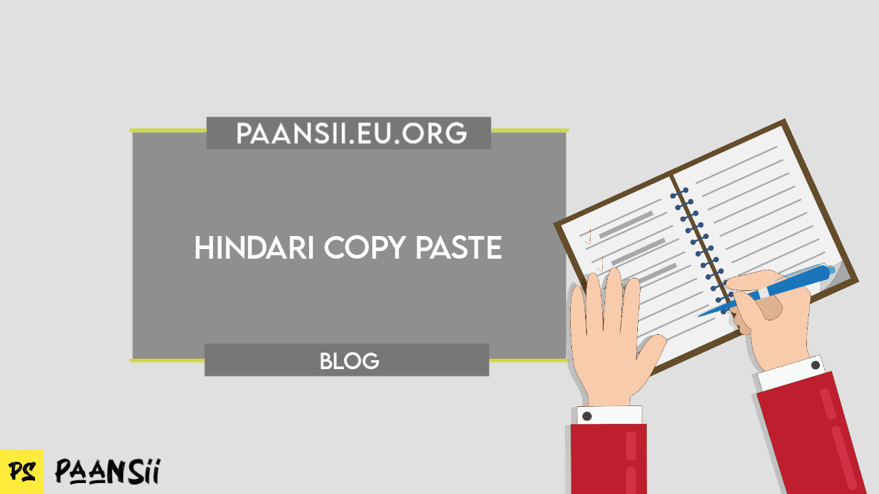 Hindari Copy Paste