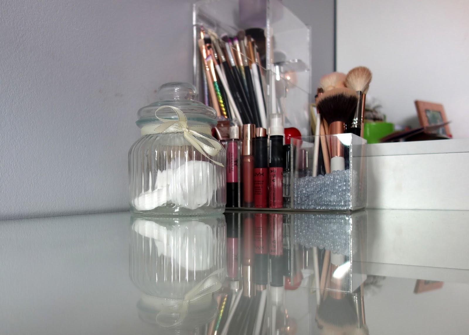 Organizacja moich kosmetyków | Aktualizacja 2018