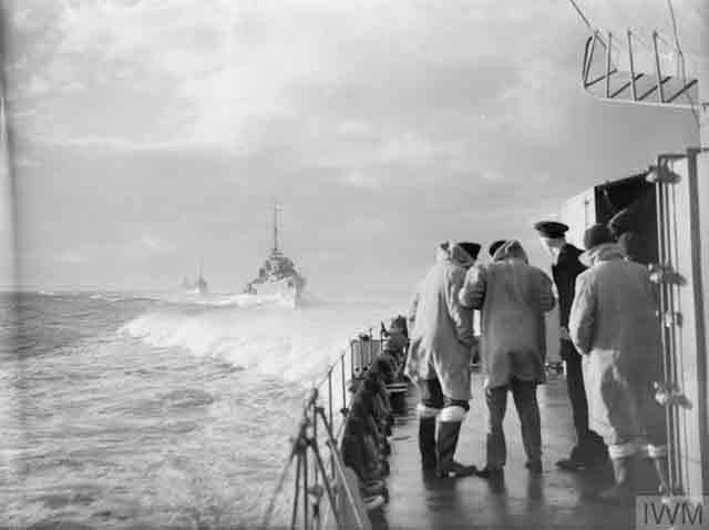 View of HMS Victorious, 22 November 1941 worldwartwo.filminspector.com