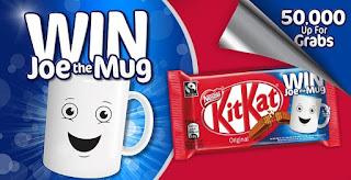 KIT KAT WIN Joe the Mug Contest - Free Promotion For UK Resident competition win free prizes