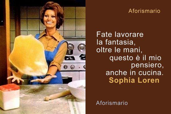 Aforismario cucina e cucinare aforismi frasi e proverbi - Lavorare in cucina ...