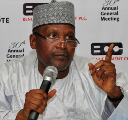 dangote ramadan donation rejected