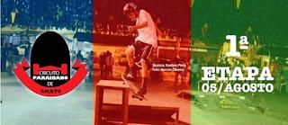 Picuí receberá circuito paraibano de street skate