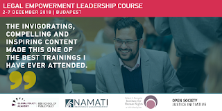 Legal Empowerment Leadership Course 2018