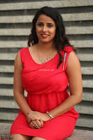 Shravya Reddy in Short Tight Red Dress Spicy Pics ~  Exclusive Pics 105.JPG