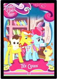 My Little Pony The Cakes Series 1 Trading Card